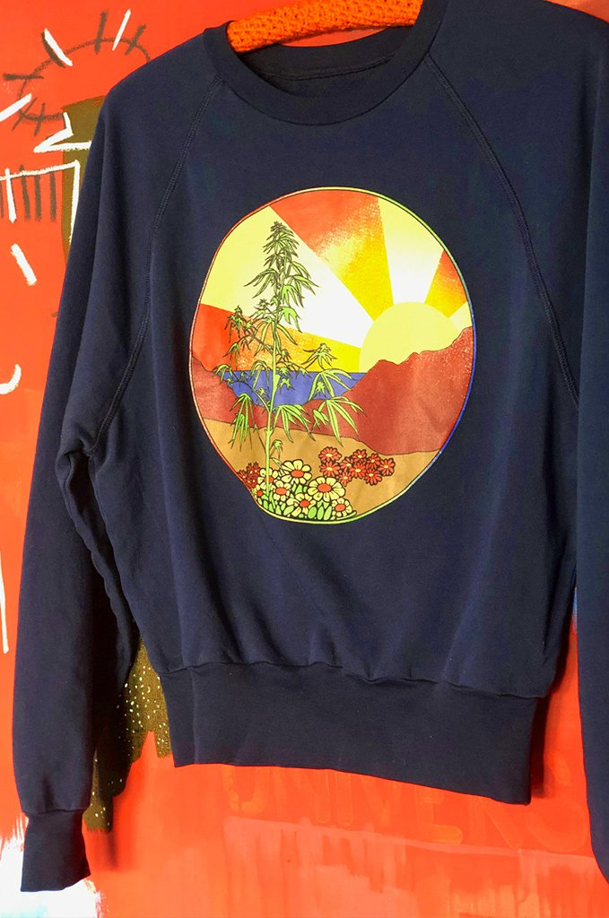 High Times Sweatshirt, navy