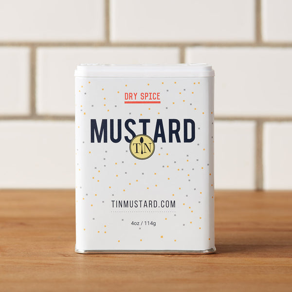 Tin Mustard - Dry Mustard Blend - One Tin