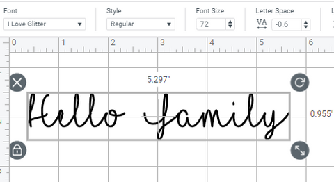 How to Add and Select Font in Cricut Design Space Tutorial, Step by Step Cricut Tutorial