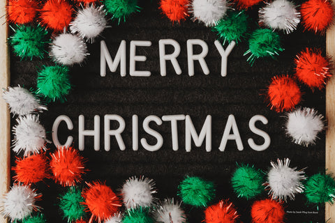 Merry Christmas board sign - Let the Spirit of Christmas Heal the World