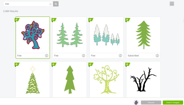 Cricut Design Space - Insert Images - Search Image - Browse Images
