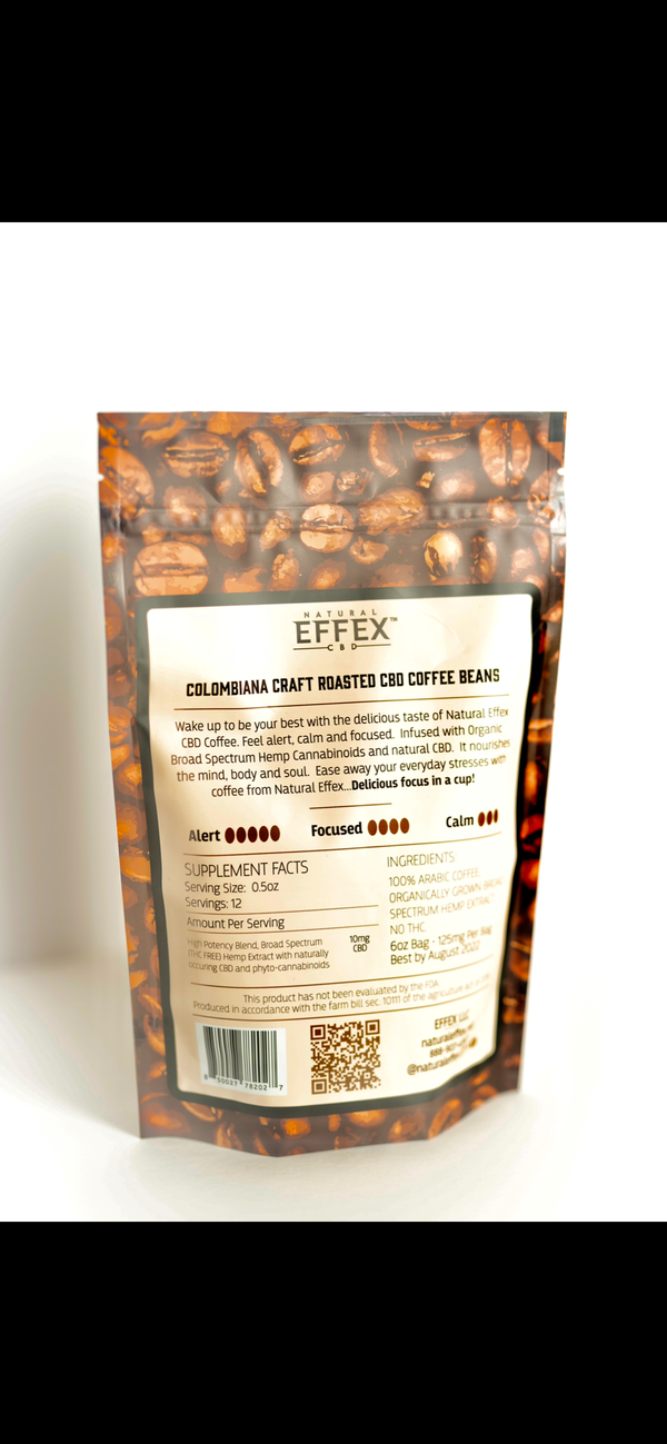 Columbiana Craft Roasted Hemp Coffee 125mg per bag