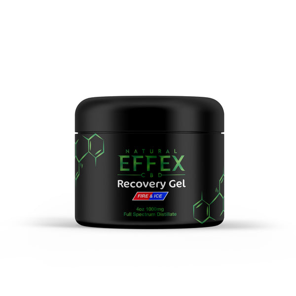 4oz 1000mg Full Spectrum Recovery Gel (Muscle And Joint)