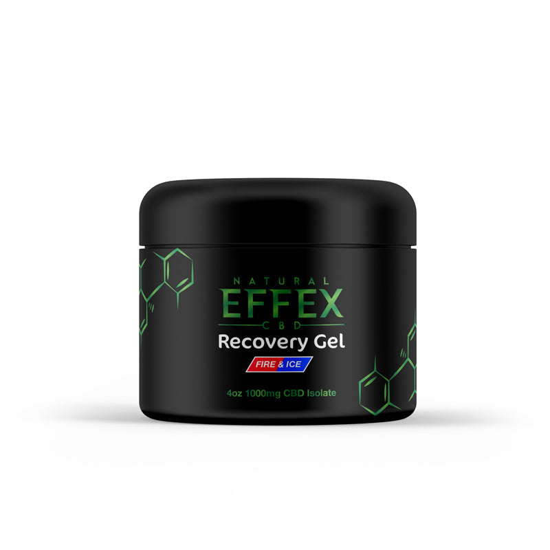 4oz 1000mg CBD Isolate Recovery Gel (Muscle And Joint)