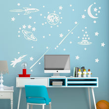 Load image into Gallery viewer, Luminous  Space Meteor DIY Wall Sticker