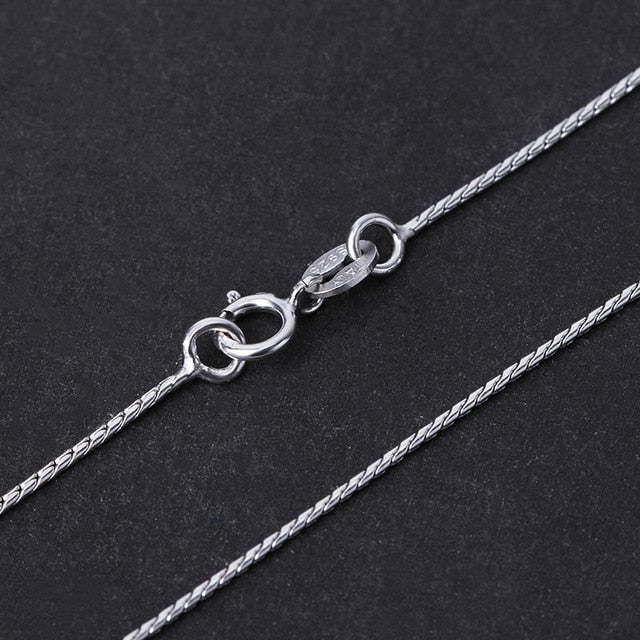 Silver Necklace For Pendant