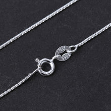 Load image into Gallery viewer, Silver Necklace For Pendant