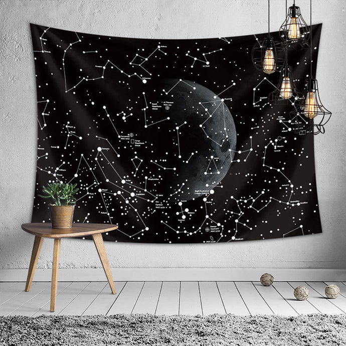 Constellation Tapestry Blanket Galaxy Space Gifts