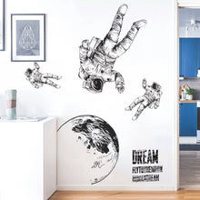 Load image into Gallery viewer, Space Astronaut Wall Stickers