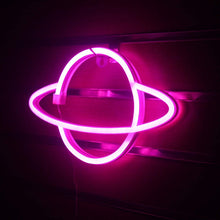 Load image into Gallery viewer, Planet Neon Sign Light LED