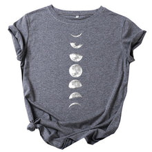 Load image into Gallery viewer, T Shirt Moon Planet