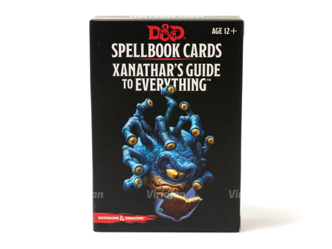 Spellbook Cards - Xanathar's Guide To Everything