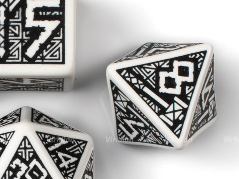 Dwarven White & Black