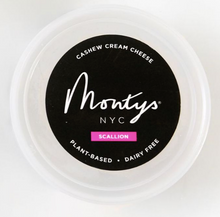 Load image into Gallery viewer, Monty's Scallion Cashew Cream Cheese