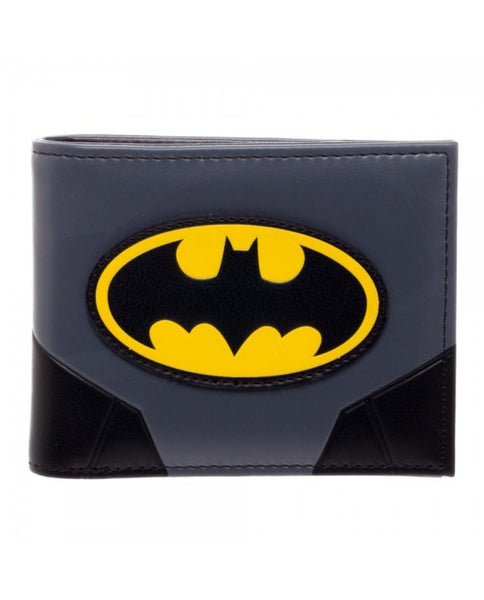 Licensed DC Comics Batman Logo Bifold Faux Leather Wallet