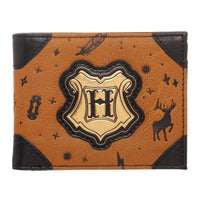 "Licensed Harry Potter ""H"" Bifold Faux Leather Wallet"