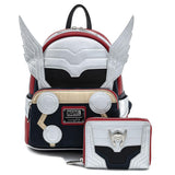 Loungefly Marvel Thor Classic Mini Backpack and Wallet Set