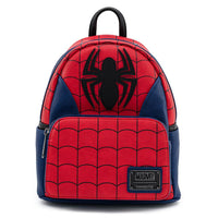 Loungefly Marvel Spiderman Classic Mini Backpack and Wallet Set