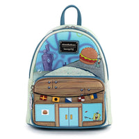 Loungefly Nickelodeon Krusty Krab Mini Backpack