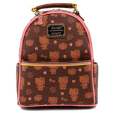 Loungefly Sanrio Hello Kitty Pumpkin Spice Mini Backpack and  Wallet Set