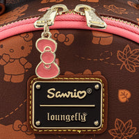 Loungefly Sanrio Hello Kitty Pumpkin Spice Faux Leather Mini Backpack