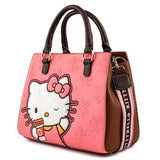 Loungefly Sanrio Hello Kitty Pumpkin Spice Latte Wave Cross Body Bag