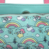 Loungefly Sanrio Little Twin Stars Rainbow Crossbody Bag
