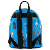 Loungefly Star Wars Action Figures Mini Backpack and Wallet Set