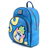 Loungefly Disney Lilo Stitch Pineapple Floaty Mini Backpack and Wallet Set