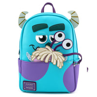 Loungefly Disney Monsters Sully Mini Backpack with Boo Coin Pouch and Cardholder Set