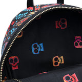 Loungefly Disney Pixar Coco Dia De Los Muertos Faux Leather Mini Backpack