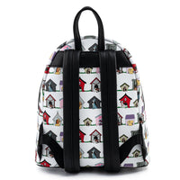 Loungefly Disney Dog Houses Mini Backpack and Wallet Set