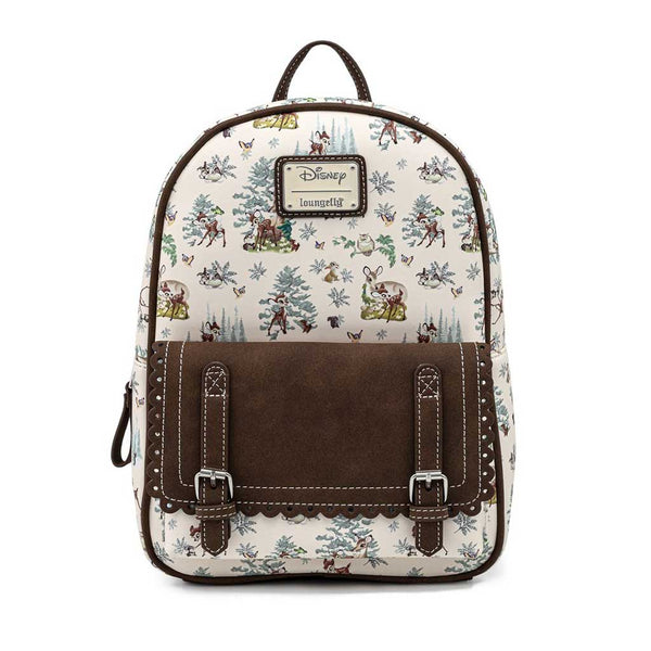 Loungefly Disney Bambi Forest Mini Backpack