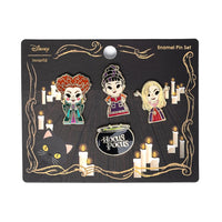 Loungefly Disney Hocus Pocus 4 Pieces Enamel Pin Set