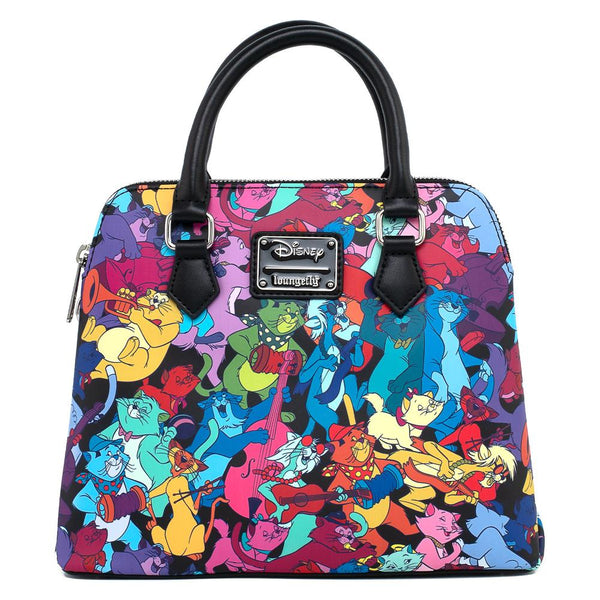 Loungefly Disney Aristocats Jazzy Cats Faux Leather Crossbody Bag