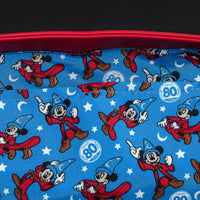 Loungefly Disney Fantasia Sorcerer Mickey Crossbody Bag
