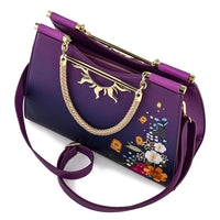 Loungefly Rapunzel Tangled Floating Lights Cross Body Bag