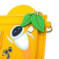 Loungefly Disney Pixar Wall-E and Eve Boot Plant Flap Wallet