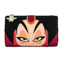 Loungefly Disney Aladdin Jafar Cosplay Flap Wallet