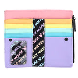 Loungefly Disney Mickey Mouse Pastel Poses Faux Leather Wallet