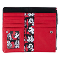 Loungefly Disney Mickey Mouse Quilted Oh Boy Wallet