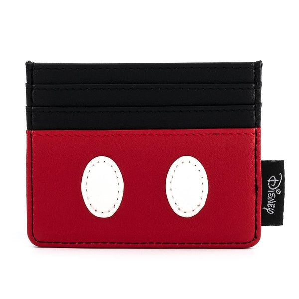 Loungefly Disney Mickey Mouse Classic Cosplay Faux Leather Cardholder