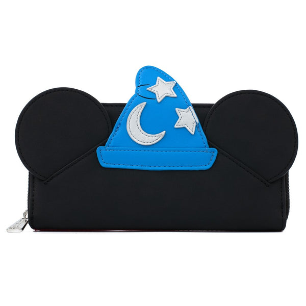 Loungefly Disney Fantasia Sorcerer Mickey Faux Leather Wallet