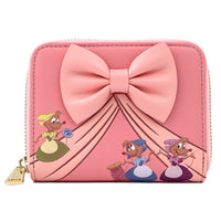 Loungefly Disney Cinderella 70th Anniversary Peek-A-Boo Mini Backpack Wallet Set
