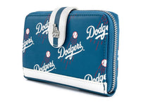Loungefly MLB LA Dodgers Clear Stadium Backpack and Wallet Set