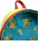 Loungefly Disney A Bugs Life Heimlich Mini Backpack and Wallet Set