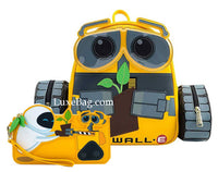 Loungefly Disney Pixar WALL-E Plant Boot Mini Backpack and Wallet Set
