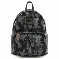 Loungefly Disney Villains Debossed Mini Backpack