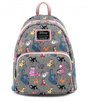 Loungefly Disney Cats Faux Leather Mini Backpack