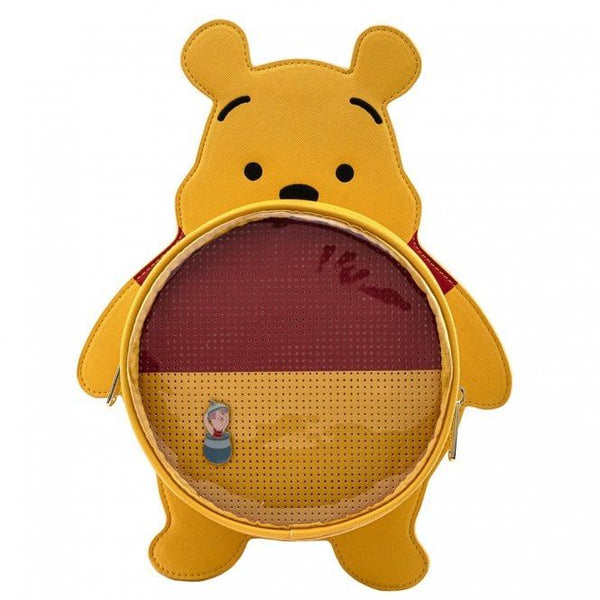 Loungefly Disney Winnie The Pooh Pin Collection Mini Backpack